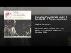 Prokofiev: Piano Sonata No.8 in B flat, Op.84 - 2. Andante sognando