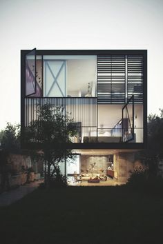 Envyavenue: Glass Box Home
