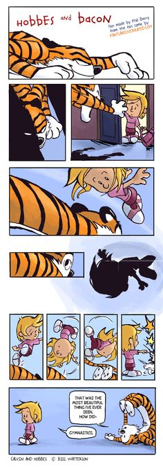 Another Hobbes and Bacon artist worth mentioning!