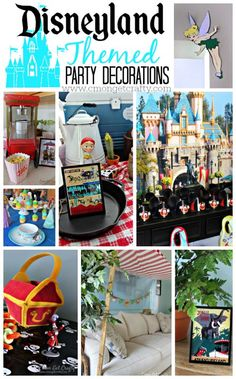 We love Disneyland so much that I threw a Disneyland themed party for my son! I turned our house into the Magic Kingdom for a day of Mickey Mouse fun.