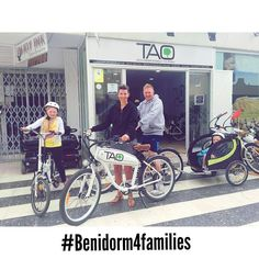 This lovely family from #uk are discovering a new #benidorm with our #taobike enjoying the natural park of #serragelada and every corner of this city!! #benidorm4families #bikerental #alquilerbicis #ecotourism #responsibletourism #electricbike #taobikes