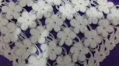 3 boyutlu şal örgu modeli /Crochet : Punto en Relieve Combinado