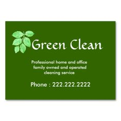 1122 best eco green business card templates images on pinterest cleaning company green eco friendly nature business cards i love this flashek Image collections