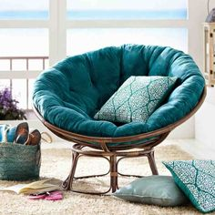 top collection the pier papasan chair. collection the pier 1 papasan has always been a college staple but Papasan Cushion, Papasan Chair, Chair Cushions, Chair Pads, Cushions Ikea, Teal Cushions, Stool Cushion, Living Furniture, Home Furniture