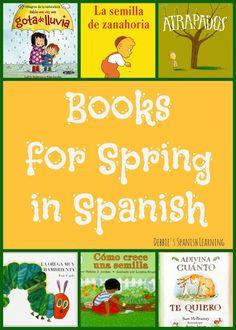 Debbie's Spanish Learning: Spanish Books for Spring {for Kids}