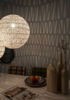 Wauw, Voor in de vernieuwde slaapkamer #vtwonencadeau   (Zuiver Cable Hanglamp Wit - 60 cm )