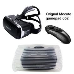 0a98dcb8a478fe VR Shinecon 2.0 ii 3D VR Glasses Virtual Reality Headset for 4.7-6  Mobile  + Mocute Controller