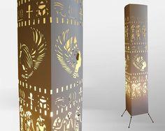 Big ben clock tower/ Floor lamp/ Lampshade/ Free by GalliniDesign ...