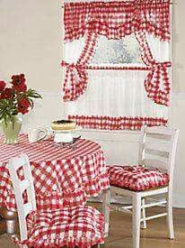 Best 11 Brighten your kitchen with a gorgeous set of kitchen curtains from Blair! Shop embroidered kitchen curtains as well as coordinates to – Page 552465079289317450 – SkillOfKing. Kitchen Curtain Sets, Kitchen Curtains, Furniture Covers, Chair Covers, Shabby Chic Living Room, Curtain Designs, Kitchen Colors, Window Coverings, Room Decor