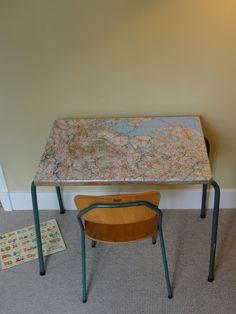 Vintage Schooltafel