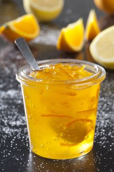Orange and lemon jelly Chutneys, Jam And Jelly, Batch Cooking, Food Is Fuel, Food Menu, Creative Food, No Cook Meals, Sweet Recipes, Food And Drink