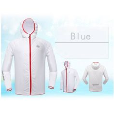 BaseCamp Breathable Cycling Clothing Jersey Long Sleeve Wind Coat Bike Bicycle Jacket UV Resistant Hooded Ultra-thin Lightweight Quick-drying