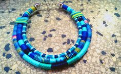 Check out this item in my Etsy shop https://www.etsy.com/listing/250187221/pico-necklace-blue-necklace-rope
