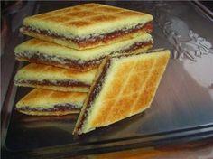 Biscotti algerini Bradzh- con date in padella