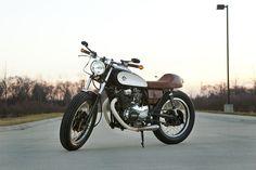 afe0cdccd36 It s the Messenger. It s a 400- don t be a size queen. Vintage Cafe RacerVintage  ...