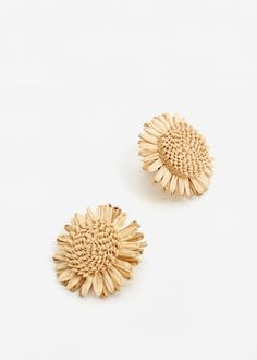 Floral earrings -  Women   MANGO USA