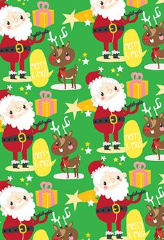 """Christmas pattern"" printable card. Customize, add text and photos. print for free! #Christmas #Card"