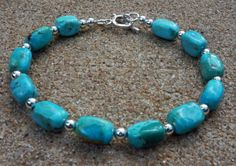 Grade AA Genuine Natural Kingman turquoise by EurekaSpringsRocks