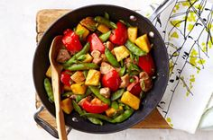 Sesame-Pineapple Chicken Stir Fry