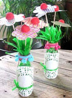 un Bouquet Fleurs Bonbons