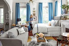 Small Space Design: Define Space with Rugs