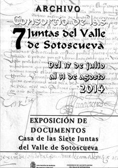 17/7-31/8 Exposición de documentos. Casa de las Siete Juntas del Valle de Sotoscueva.