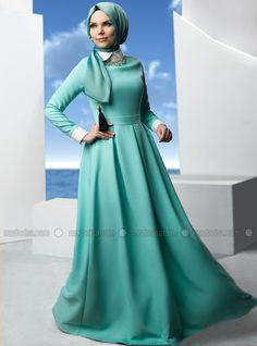 Клос Elbise - Мята - Муслима Носите