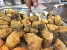 Bocaitos de pescada. Freiduria Reina Victoria #Sevilla