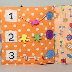 Livre Eveil et Activité pour Petite Fille Cadeau par PopelineCo