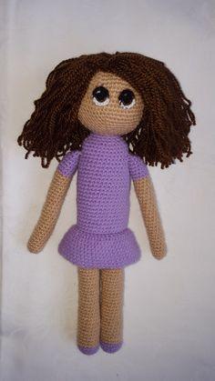 Nana the crocheted amigurumi doll by VenusCrochet on Etsy