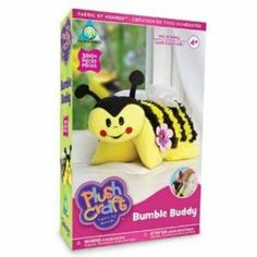 Orb Factory Plush Craft Bumble Buddy by Treasure Trove Art Stuff For Kids, Plush Craft, Crafts To Make, Arts And Crafts, Popular Toys, Sewing Lessons, Love Craft, Best Christmas Gifts, Craft Items