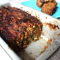 Lentil Veggie Loaf - Get Off Your Tush and Cook!