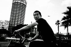 Street Photography: El ciclista