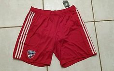 NWT ADIDAS FC Dallas MLS Soccer Shorts Men's XL