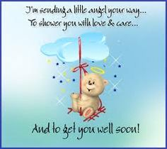 For my sweet Katie.  Nothing worse than your daughter being sick and not at home.