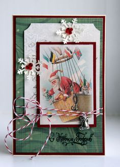 by Maryz: Новогодняя открытка №3