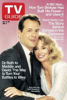 MOONLIGHTING - 1987 TV GUIDE