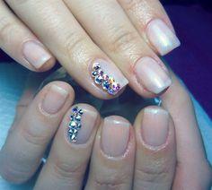 Nude Gel  #nail #nails #nailart