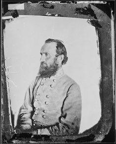 """Photograph of General Thomas J. """"Stonewall"""" Jackson by The U.S. National Archives, via Flickr"""