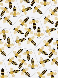 Bee pattern | Flickr - Photo Sharing!