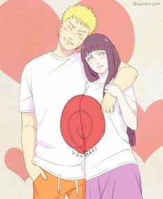 Hinata and Naruto Uzumaki ♥♥♥ #Cute #Together #Couple #Family #Love