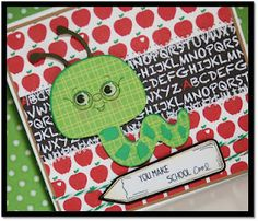 Cricut Cartridges - Create a Critter  Paper - Recollections  Peachy Keen Stamps
