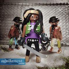MICHONNE | The Walking Dead Playmobil