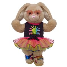 Fun in the Sun Vanilla Cream Bunny - Build-A-Bear Workshop US $44.50