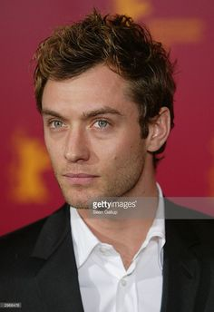 Actor Jude Law attends a photocall at the 54th annual Berlinale International Film Festival February 11, 2004 in Berlin, Germany.