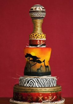 African Themed Cake by Rising Flours