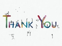Thank You note card by AnnaCullArt on Etsy