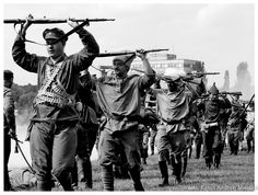 Russian Troops surrender to the Polish Army World War I, World History, Troops, Soldiers, Russian Revolution, Armed Conflict, Back In Time, Sailors, Warsaw
