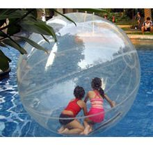 popular CE certificate Durable TPU inflatable water ball