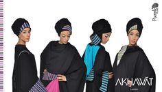 Akhawat  Purple Label  Stripe Fashion Abaya Collection (Unique Abaya Designs) Abaya Designs, Abaya Fashion, Stripes Fashion, Abayas, Label, London, Bride, Purple, Unique